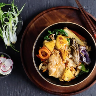 Quick-and-easy sweet-and-sour chicken
