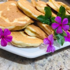 Classic Crumpets (Pancakes) With Wild Blossom Honey