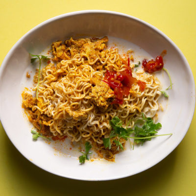 Indian-style instant noodles