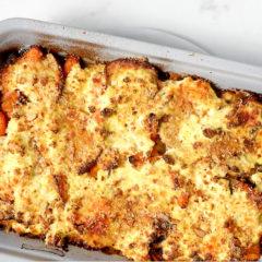 Easy, cheesy veggie bake