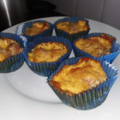 Weetbix Ham Cheese Muffins