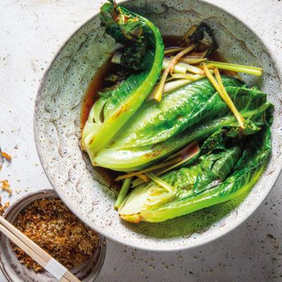 Stir-fried lettuce