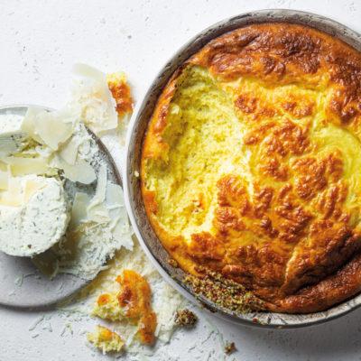 Use-up cheese bake