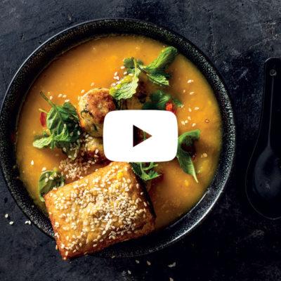 Watch: Next-level butternut soup