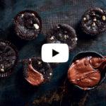 Chocolate chunk brownie cupcakes