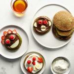 Hidden spinach pancakes