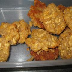 4 ingredient Peanut butter, salt & vinegar cheese cookies