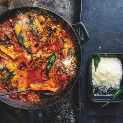 Brinjal lasagne
