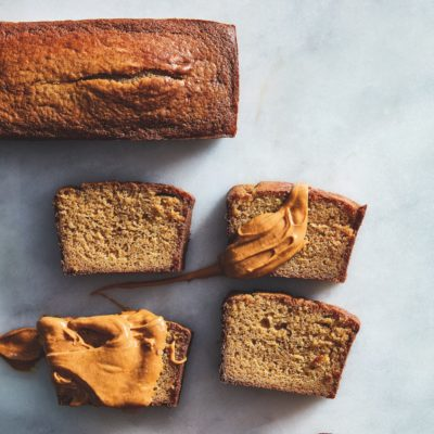 Gingerbread with speculaas caramel