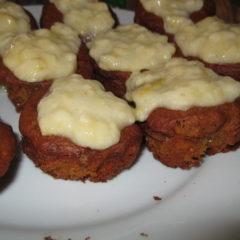Marmite banana muffins