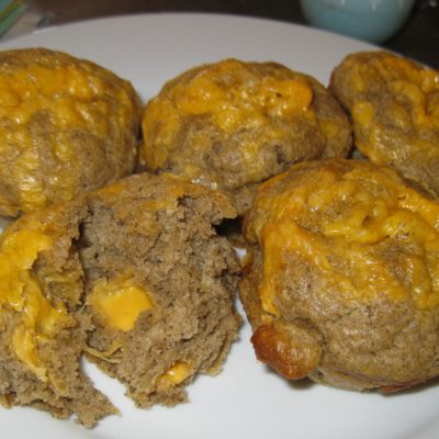 Pepper sauce cheese muffins