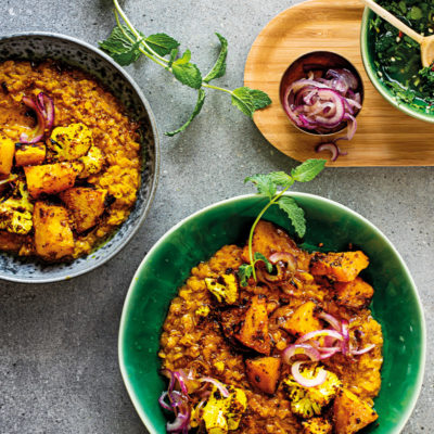 30-minute massaman dhal curry