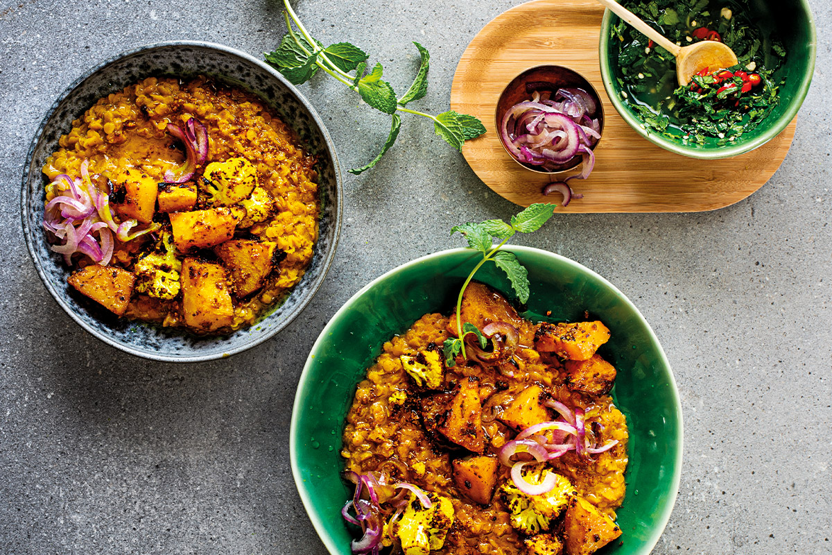 30 minute massaman dhal curry