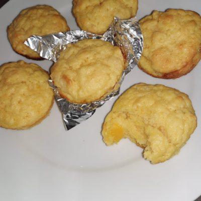 Coconut yoghurt, apricot and mango muffins