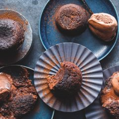 Our take on Delia Smith's melting chocolate puddings