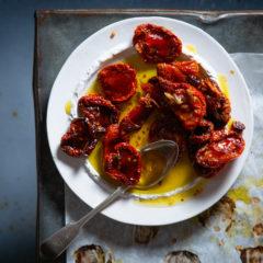 Home-made sundried tomatoes