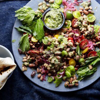 Indian-style bean salad