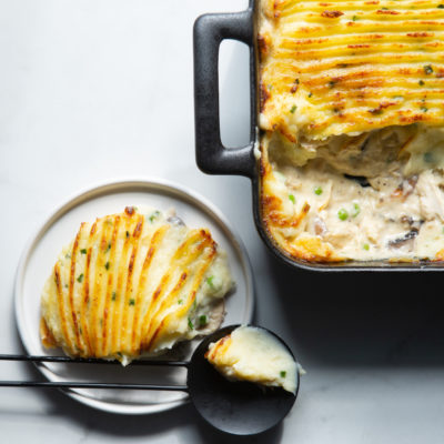 Snoek cottage pie