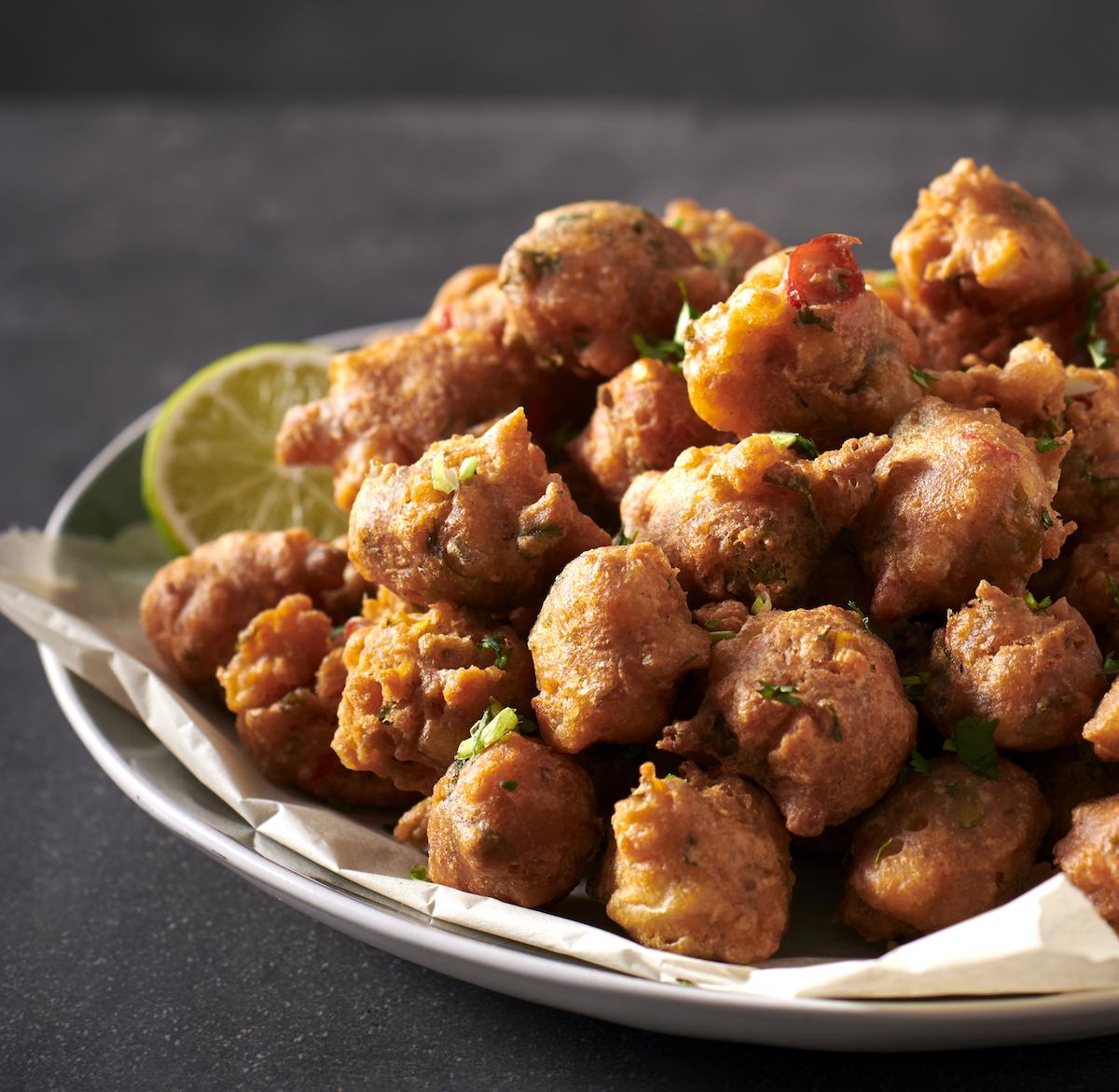 chilli bites bhajia