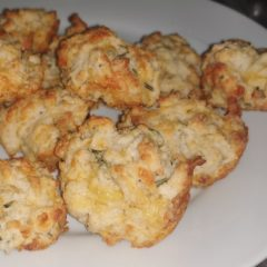 Cheese and fresh Rosemary muffins