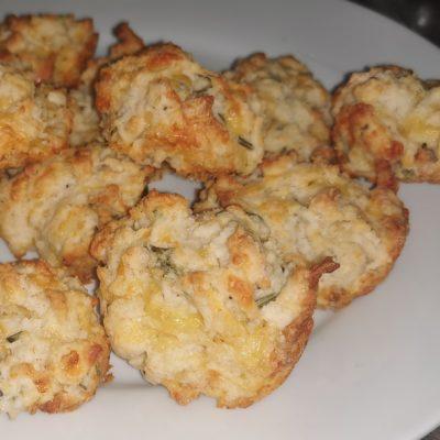 Cheese and fresh Rosemary muffins