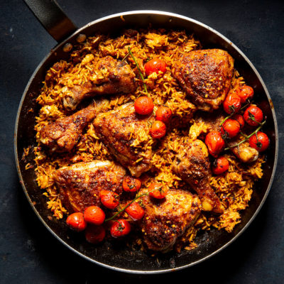 Jollof-inspired rice
