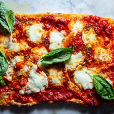 No-yeast pizza