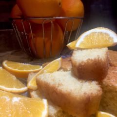 Delicate Orange Chiffon Cake