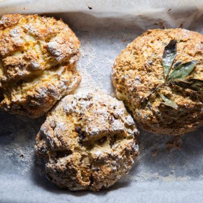 Soda bread (no-yeast bread)