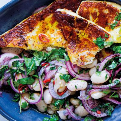 White bean-and-sumac salad