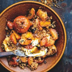 Ever-ready apple crumble