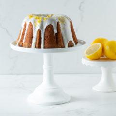 Lemon-and-thyme bundt cake