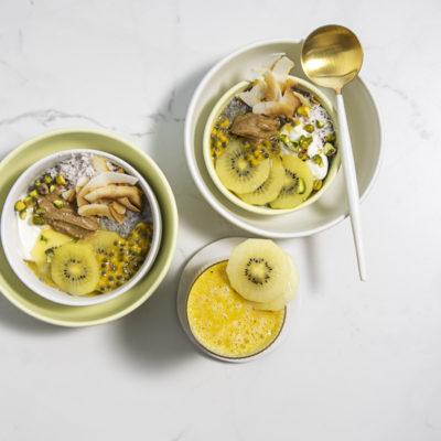 Tropical chia breakfast bowl