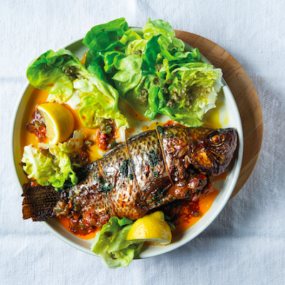 Throw something (deliciously) fishy on the grill