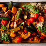 easy curry traybake