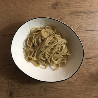 How to make cacio e pepe