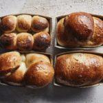 four loaves of mosbolletjies