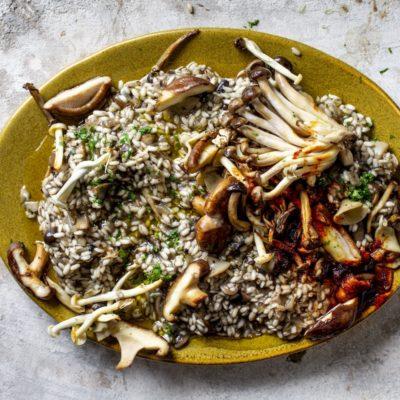 Mushroom 'paella'