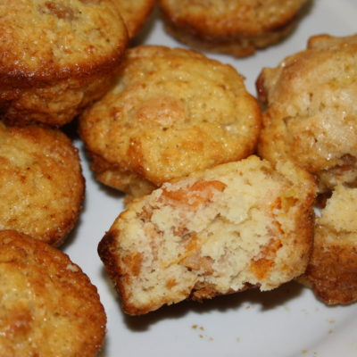 Stewed fruit muffins