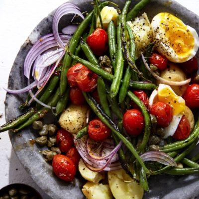 Warm Niçoise salad