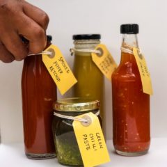 The chef spicing things up with his addictive hot sauces