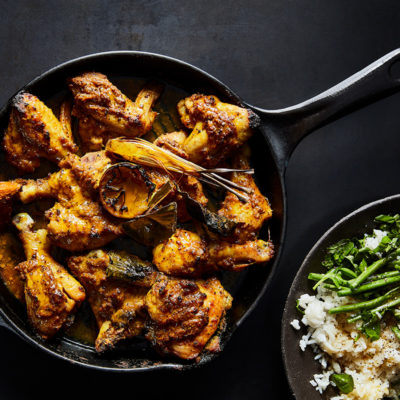 Malaysian roast chicken