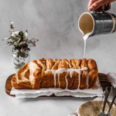 Pull-apart pancake bread