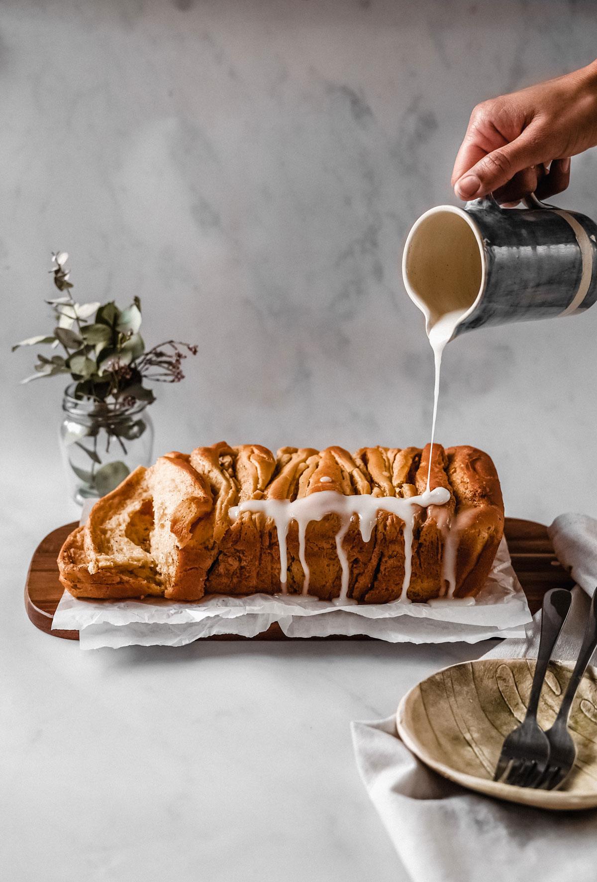 Pull-apart-pancake-bread