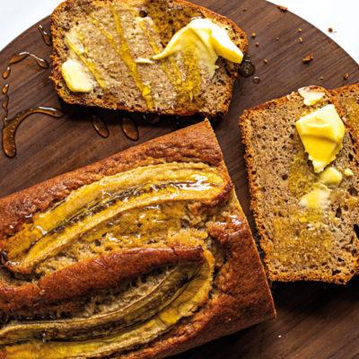 Bakery-style banana bread