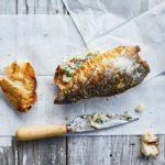 Mackerel-on-toast