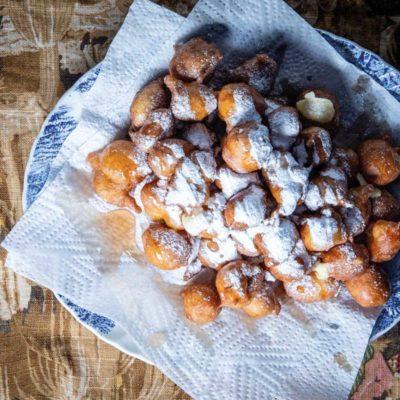 Poffertjie inspired doughnuts
