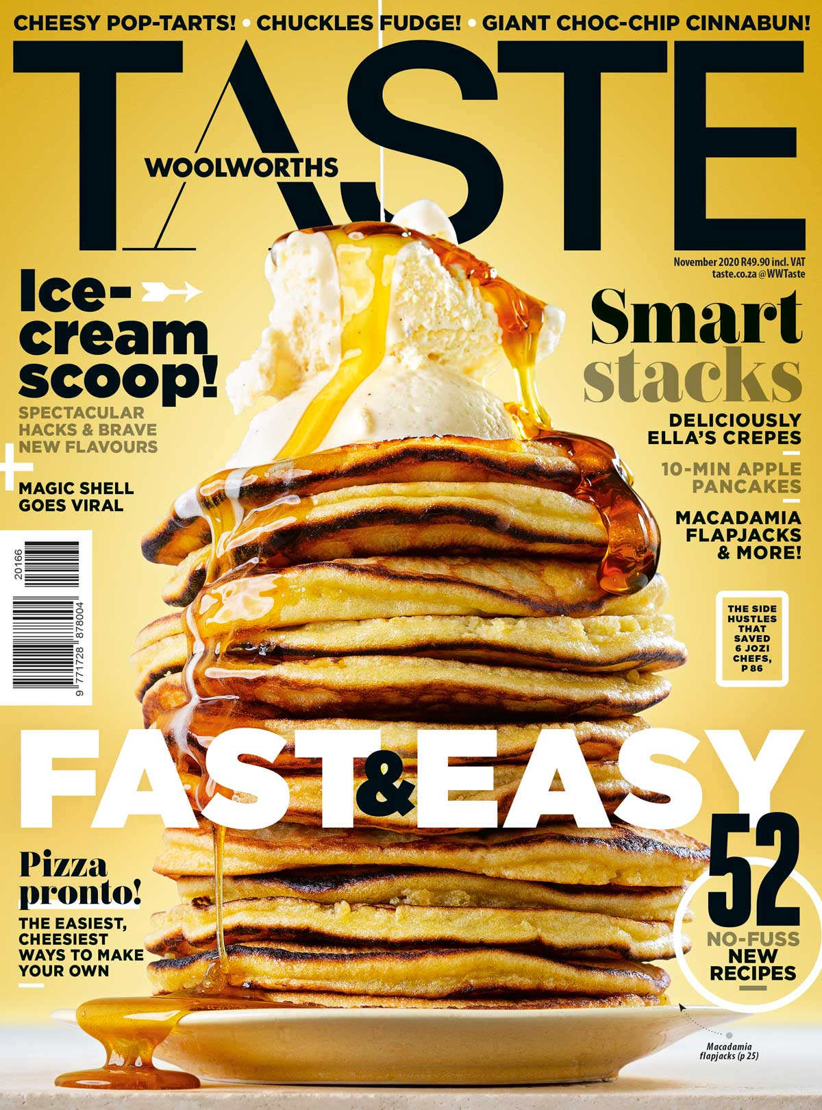 TASTE November 2020 cover