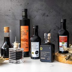 Discover the varied and complex flavours of balsamic vinegar