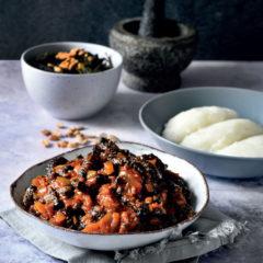 Mopane stew (Mashonzha)